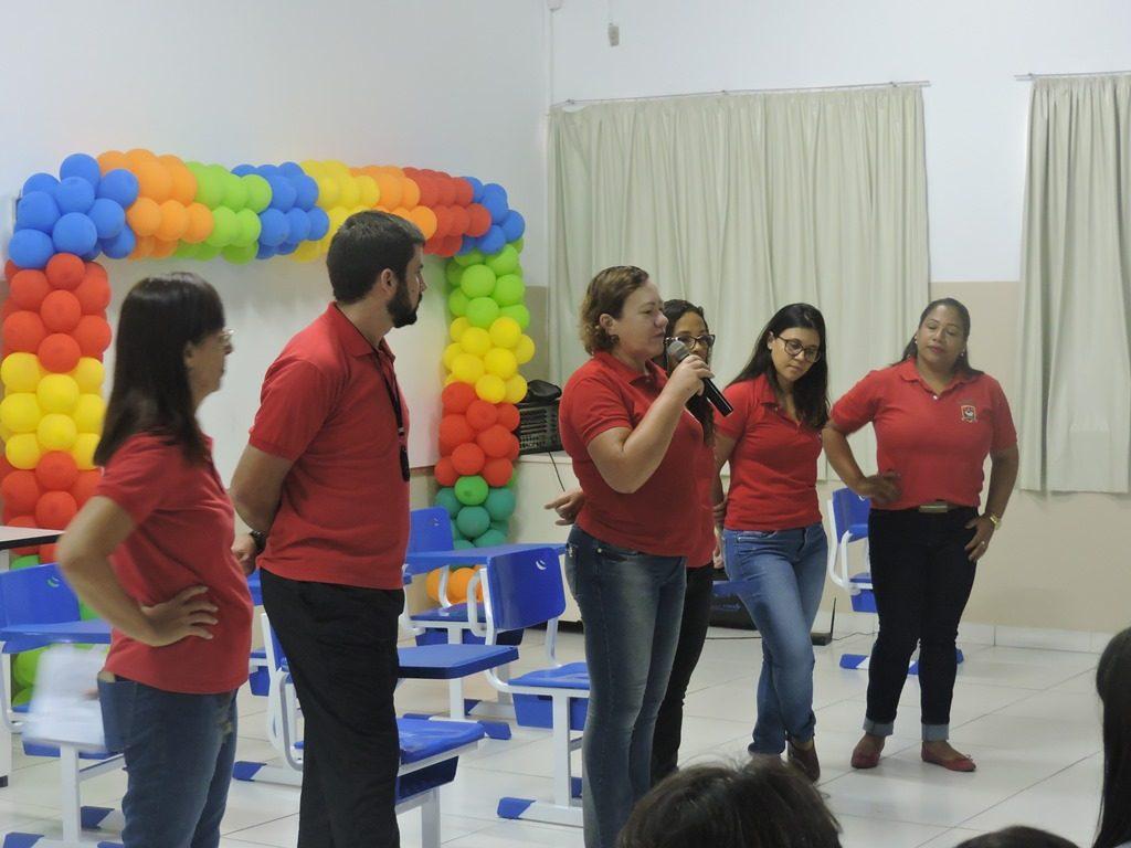 Volta às aulas – Ginásio Colégio Santo Antônio