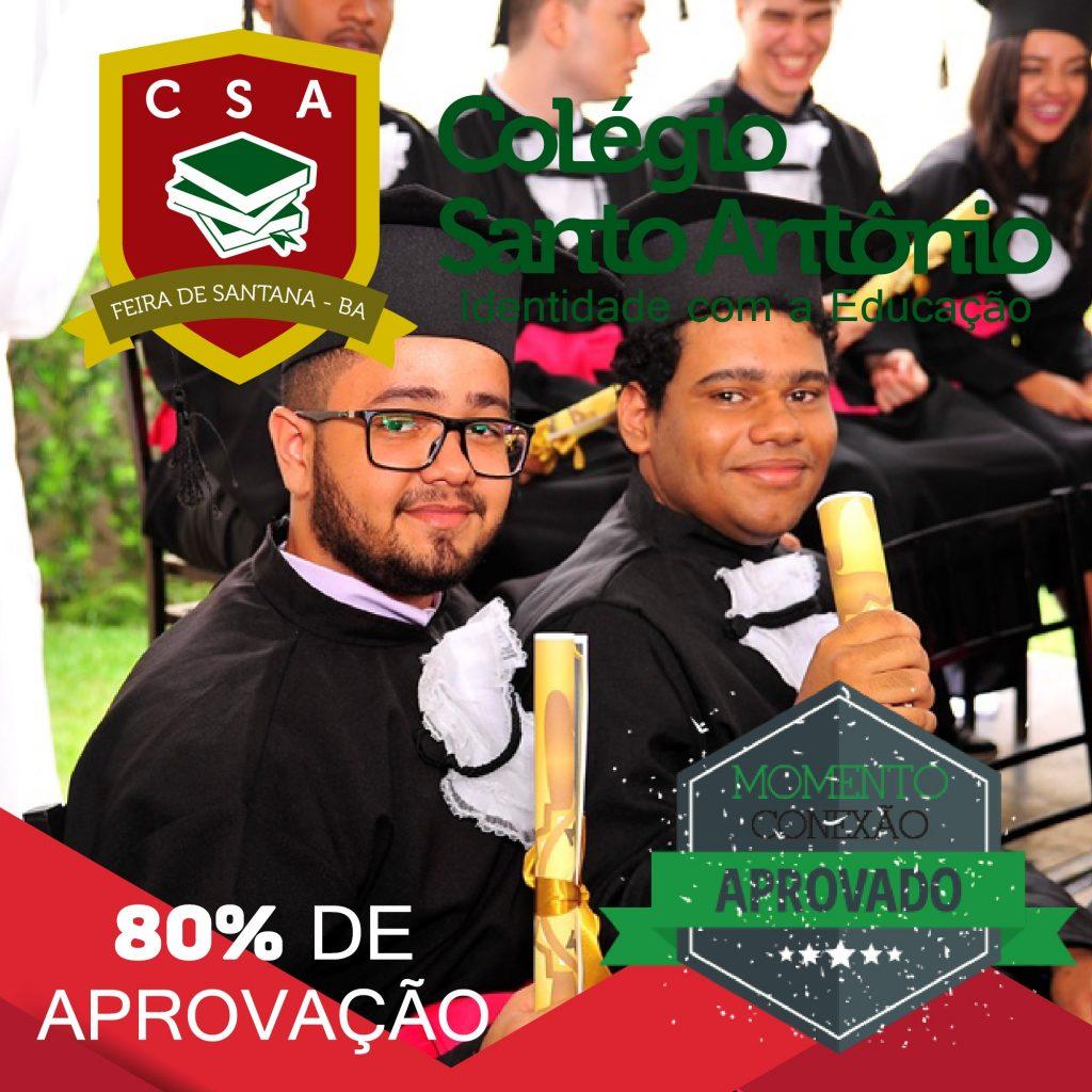 APROVADOS 2017 –  Colégio Santo Antônio | Identidade com a Educação