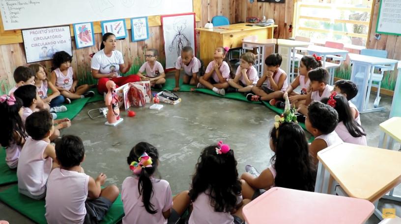 Colégio Santo Antônio apresenta – Projeto Sistema Circulatório
