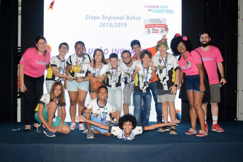 Natus Vincere! Equipe do CSA ganha prêmio de robótica em primeiro lugar