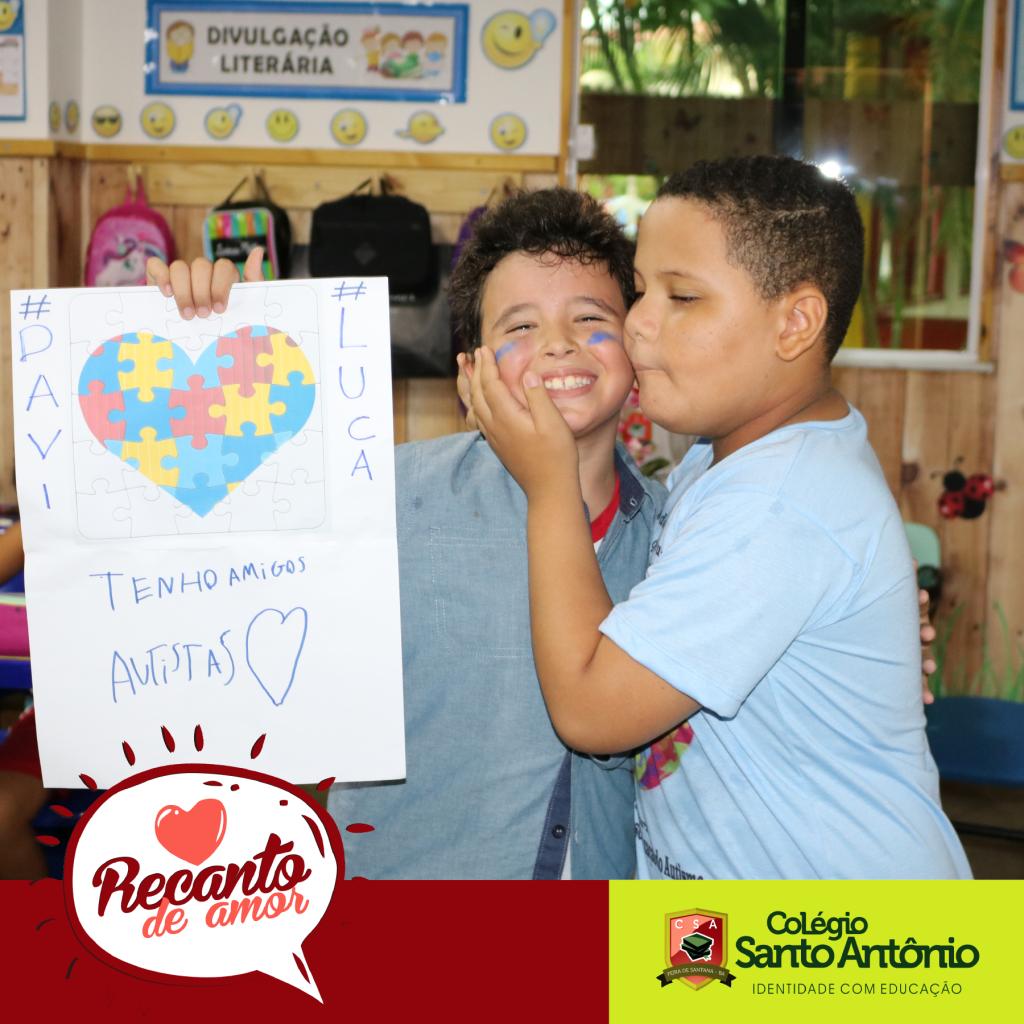 O Colégio Santo Antônio aborda – A importância da inclusão social de estudantes com autismo na escola