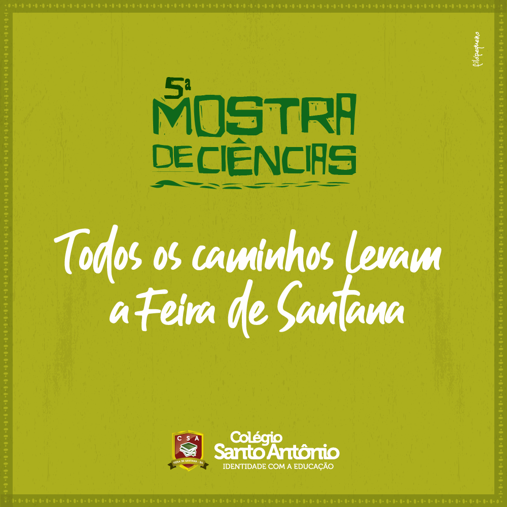 5ª Mostra de Ciências – Colégio Santo Antônio