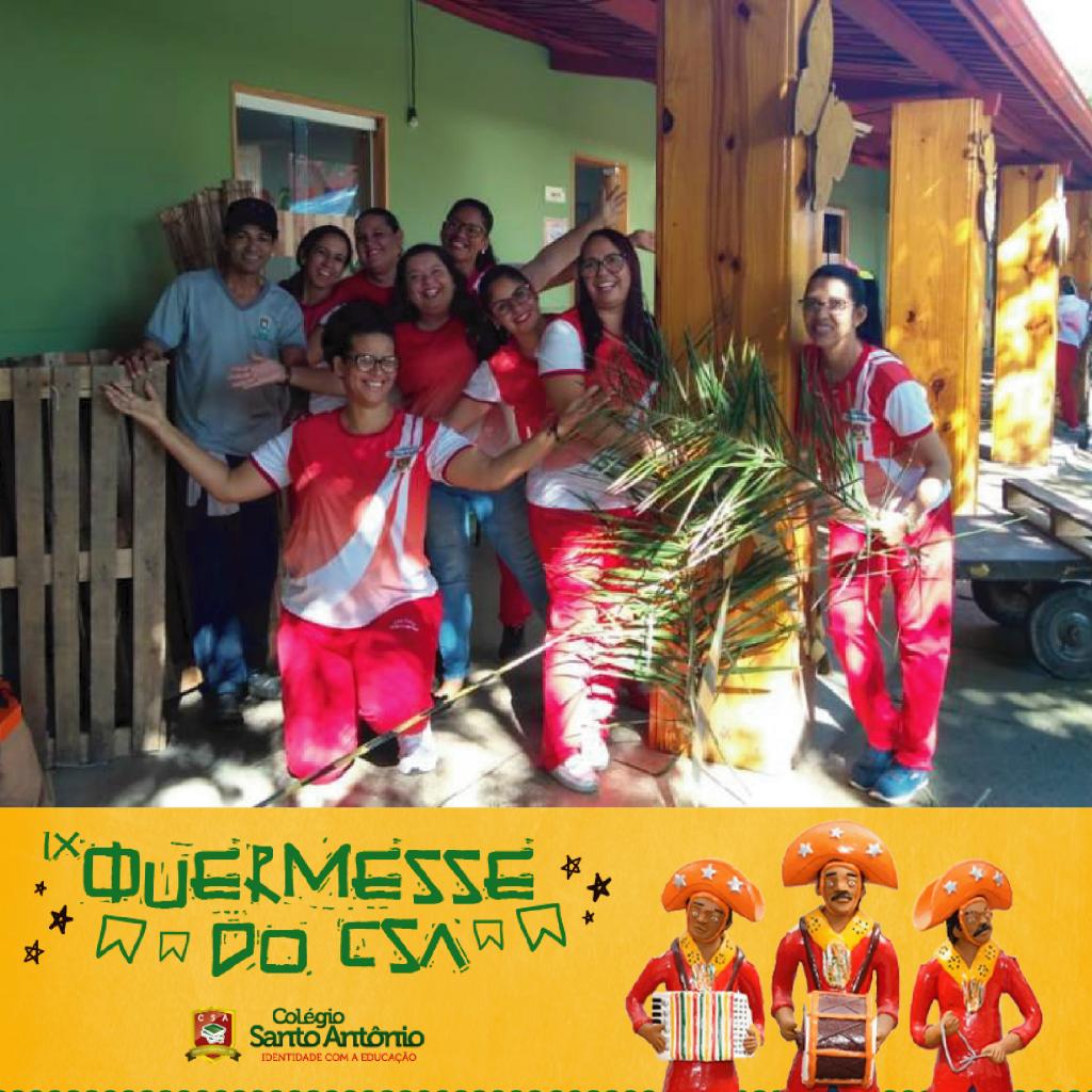 IX QUERMESSE | Estamos esperando por vocês! | Colégio Santo Antônio